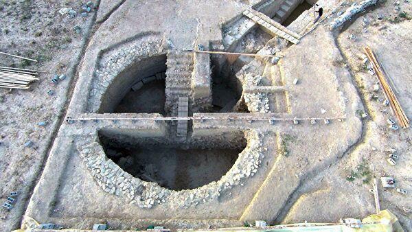 Найдены гробницы бронзового века, выложенные золотом