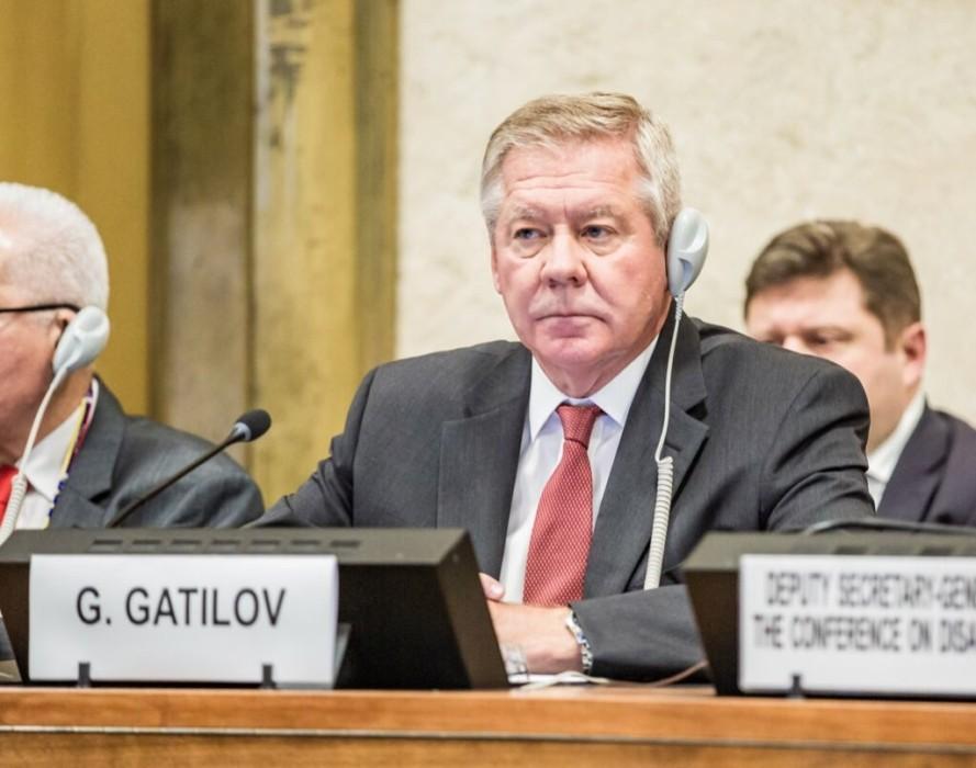 Геннадий Гатилов: для мировой безопасности сейчас не лучшие времена