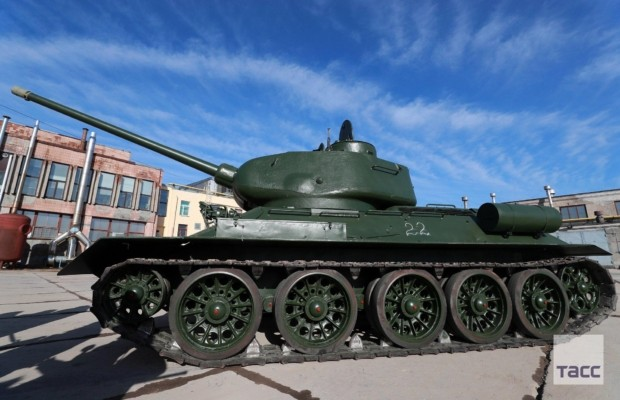 В Санкт-Петербурге завершилась реконструкция 30 танков Т-34