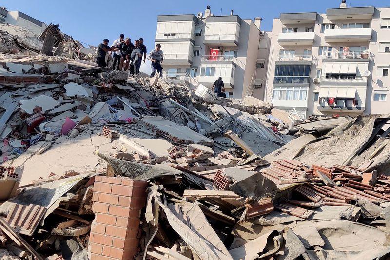 В результате землятресения в Турции разрушены два десятка домой