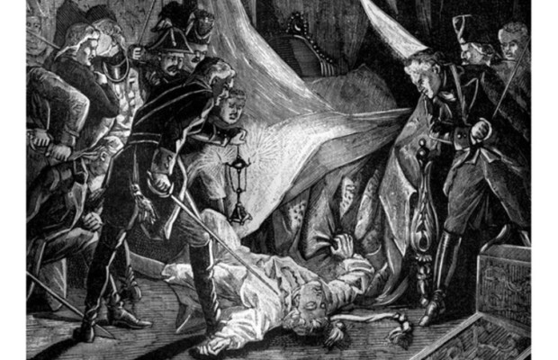 Этот день в истории: в 1801 году в Михайловском замке в Петербурге заговорщики убили императора Павла I