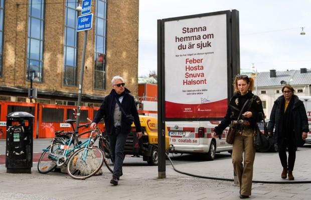В Швеции коронавирус вышел на третье место среди причин смертности