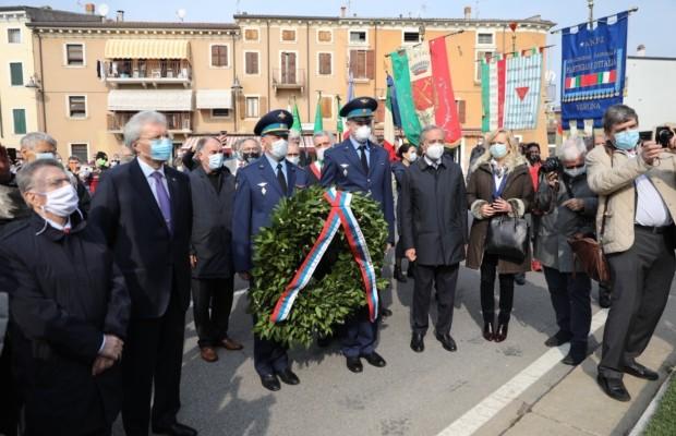 В Италии открыли памятник советскому партизану, сражавшемуся в рядах итальянского Движения Сопротивления