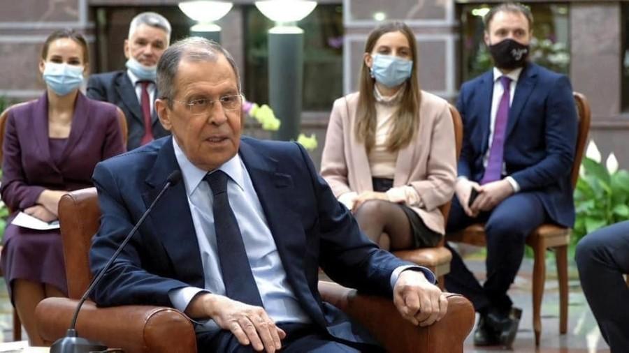 Сергей Лавров говорил на онлайн-заседании Совбеза ООН о подмене понятий со стороны Запада