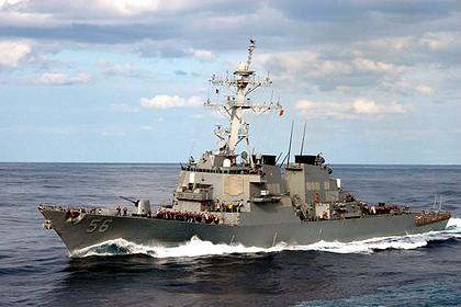 Эсминец США нарушил российскую границу в заливе Петра Первого