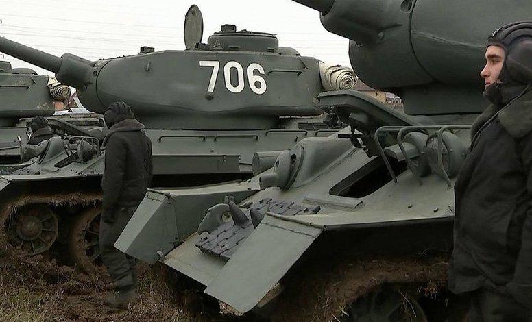 Легендарный советский танк Т-34