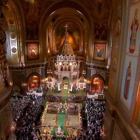 Православные христиане отмечают Рождество Христово