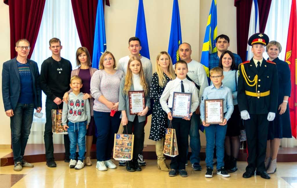 Награждение призеров военно-патриотического конкурса прошло в Музее боевой славы