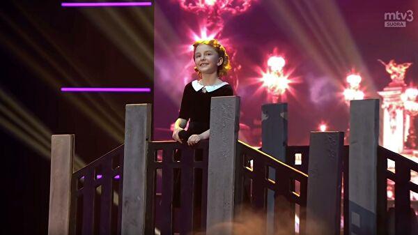 Девочка из России вышла в финал конкурса талантов в Финляндии