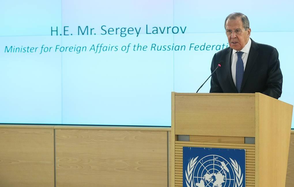 """Лавров прокомментировал реакцию на предложение Путина провести саммит """"пятерки"""" СБ ООН"""