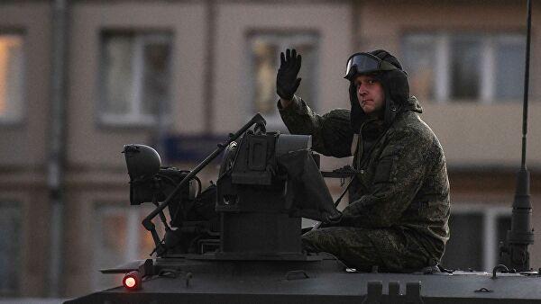 Трансляция парада Победы на Красной площади начнется в 10:00