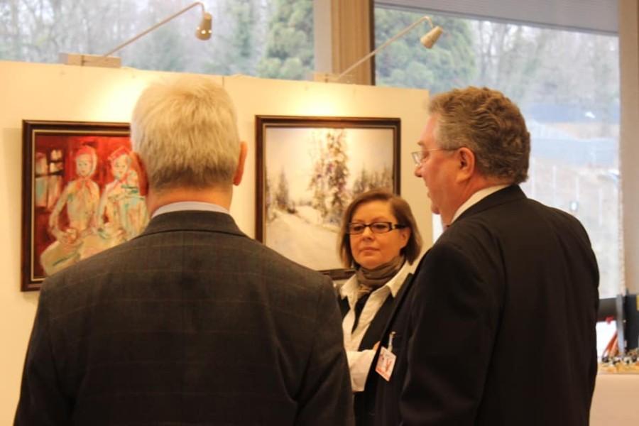 В женевском Отделении ООН состоялось торжественное открытие художественной выставки «Моя Россия»