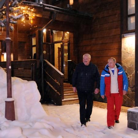 До позднего вечера длилась встреча президентов России и Белоруссии