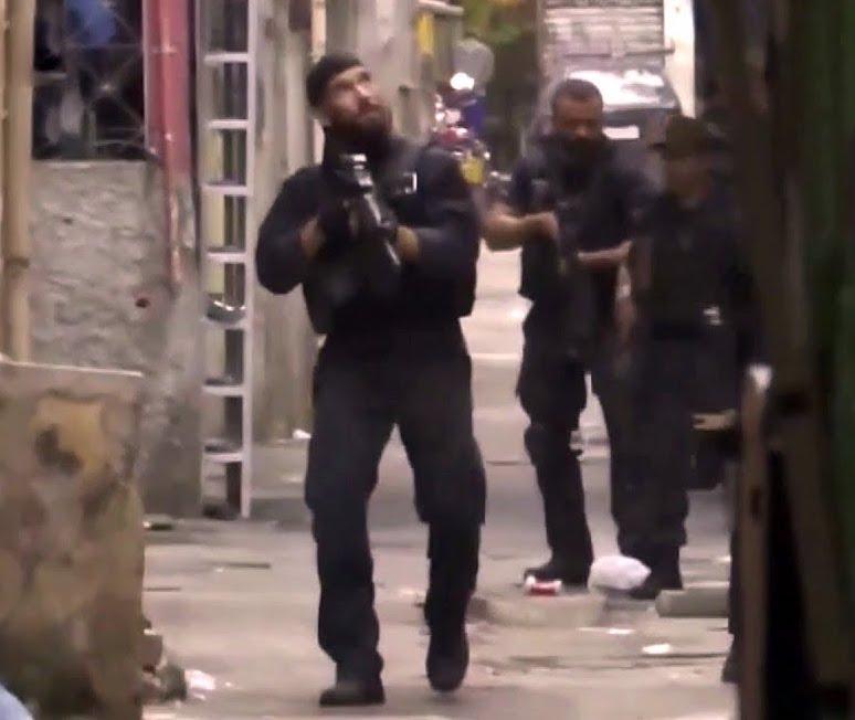 В Бразилии 25 человек убиты в ходе перестрелки между полицией и наркоторговцами
