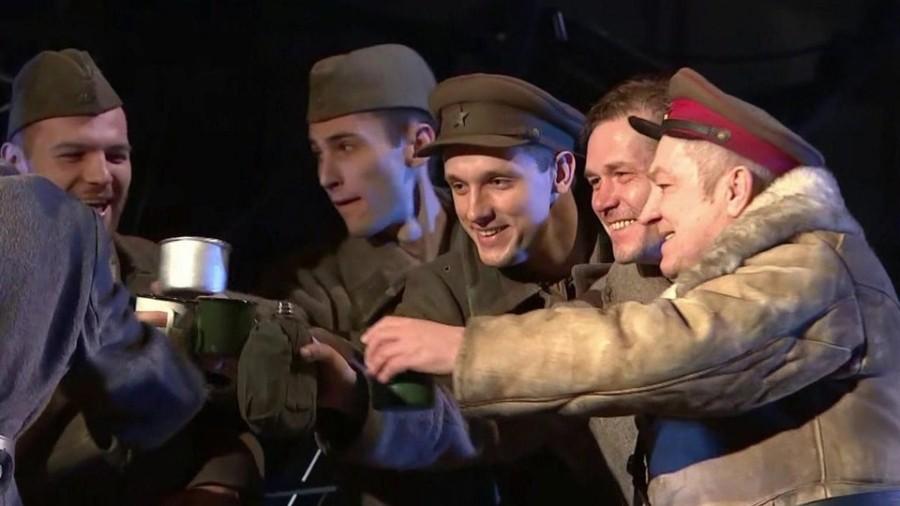 В Москве прошла премьера спектакля «В окопах Сталинграда»