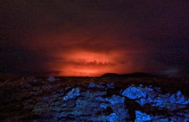 Извержение вулкана Fagradalsfjall в марте 2021 Источник Nanna Höjgaard Grettisdóttir