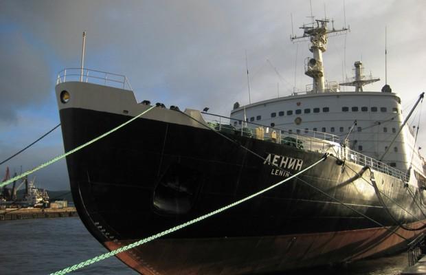 Внутри атомного ледокола «Ленин» снова забурлила жизнь