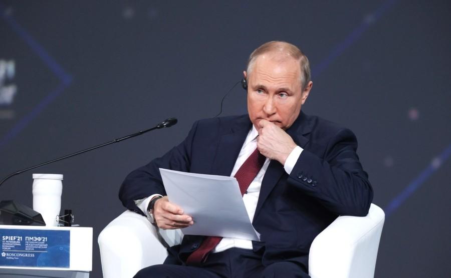 Владимир Путин на пленарном заседании ПМЭФ говорил о глобальной экономике