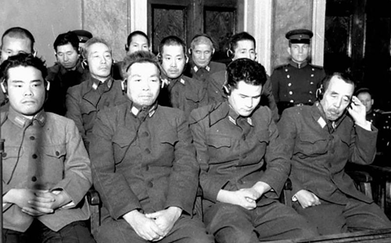 Хабаровский процесс 1949 г. над японскими военными преступниками. Фото: Победа РФ