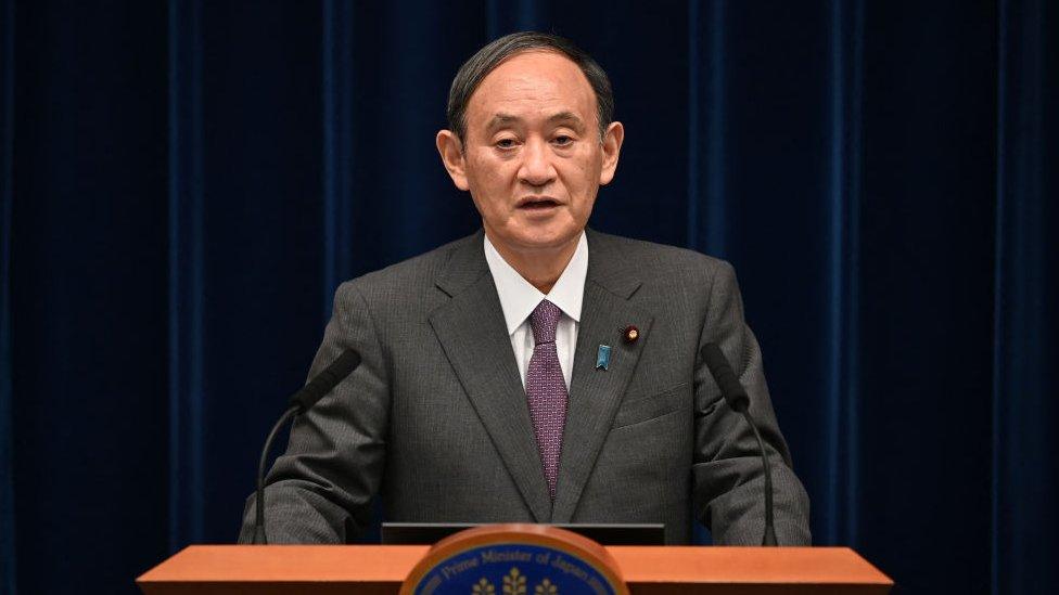 Премьер-министр Японии уходит в отставку. Одна из причин — Олимпиада в Токио