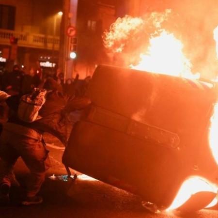 В Мадриде акции в поддержку рэп-исполнителя Пабло Аселя обернулись беспорядками
