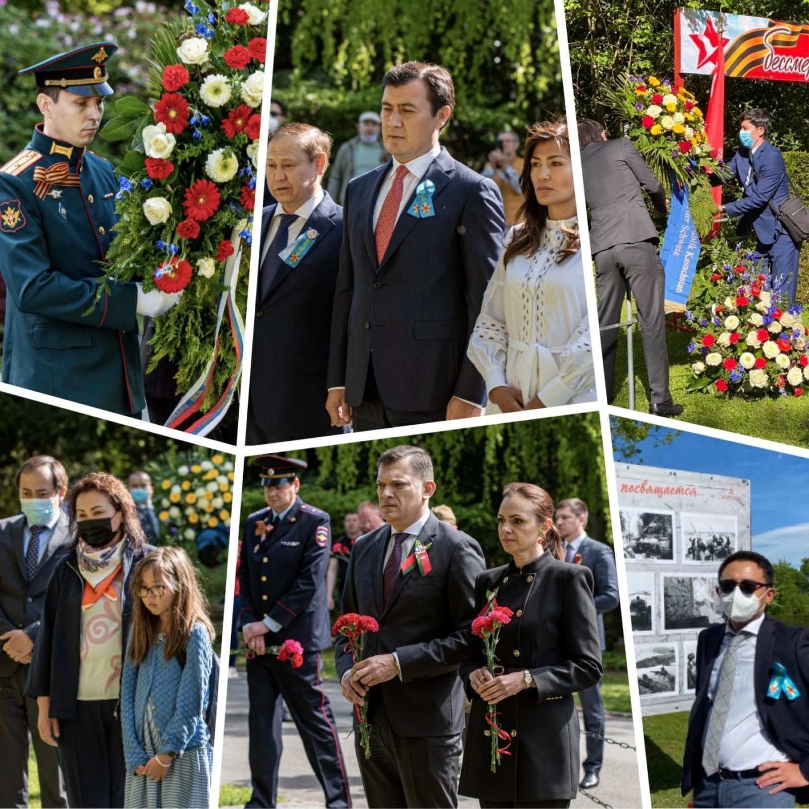 Мероприятия посвященные Дню Победы прошли по всему миру