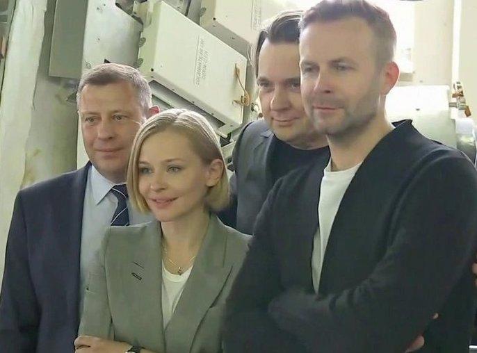 Юлия Пересильд и Клим Шипенко отправятся на МКС для съемок в фильме