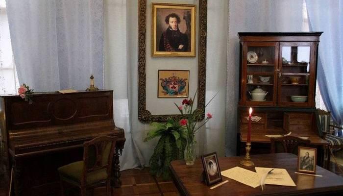 Музей Пушкина в Гурзуфе. Интерьер. Фото ГидКрыма
