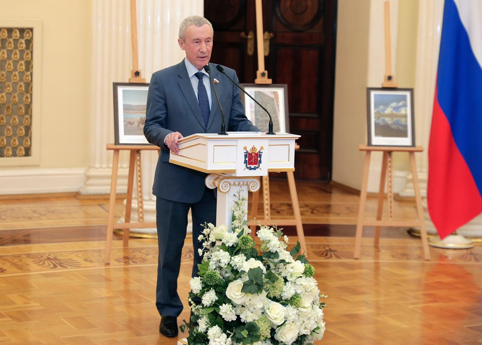 Заместитель председателя Комитета Совета Федерации России по международным делам Андрей Климов